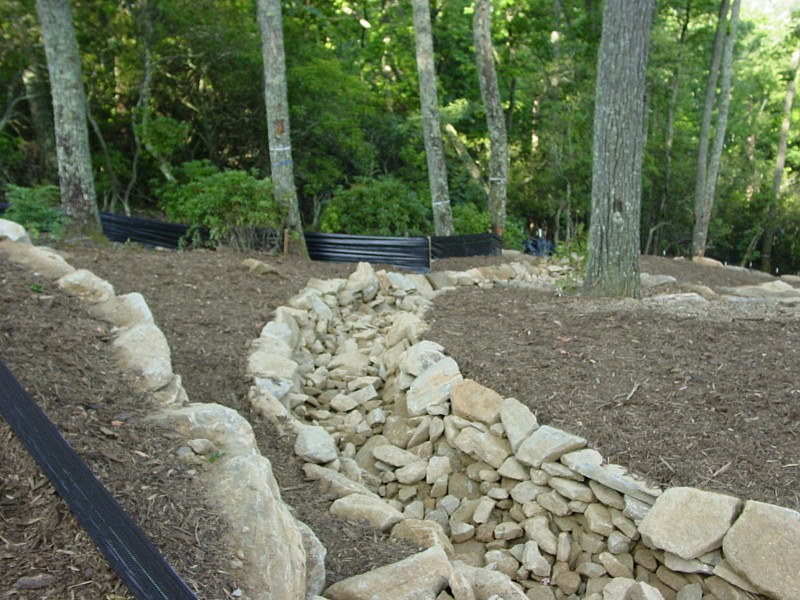 Landscaping services landscape design ashville nc for Residential stormwater drainage solutions